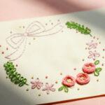 Jumfulの遊び場はじめのいっぽ企画のAmyuCeriseの紙刺繍体験